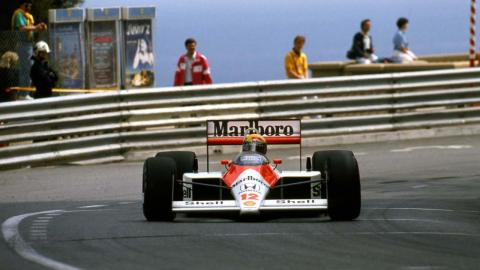 Senna GP Mónaco 1988