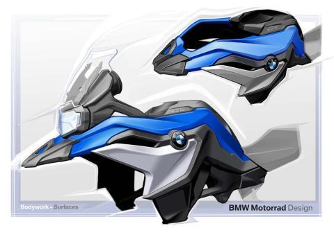 Tecnología nuevas BMW F750GS y F850GS 2018