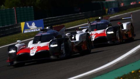 Toyota en las 6 Horas Spa-Francorchamps
