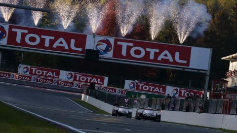 Toyota gana en Spa
