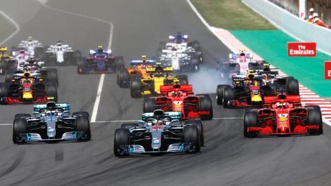 Victoria de Lewis Hamilton en España
