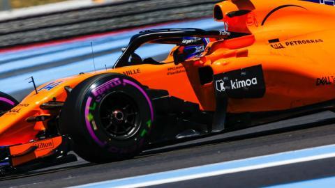 Alonso en el GP de Francia