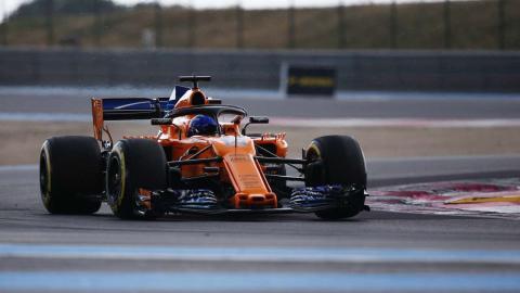 ALonso en el GP Francia