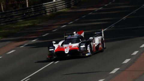 Alonso en la primera clasificación le Mans