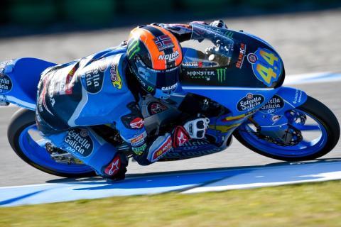 Aron Canet encabeza los Libres Moto3 Assen 2018