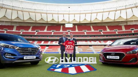 Atlético de Madrid Hyundai