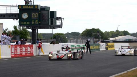 Audi R8 en Le Mans