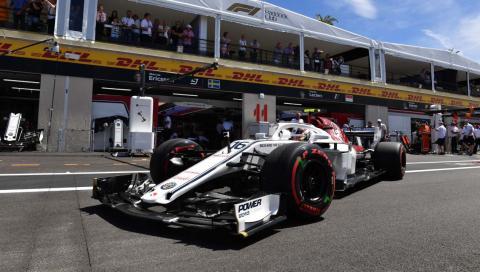 Charles Leclerc GP Francia
