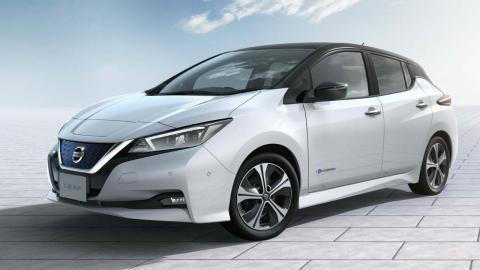coches para autónomos Nissan Leaf