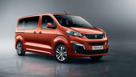 coches para autónomos Peugeot Traveller
