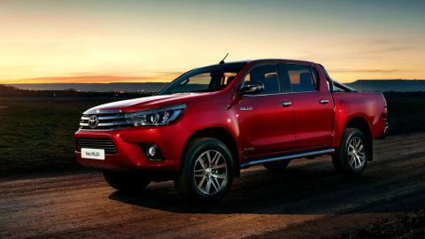 coches para autónomos Toyota Hilux