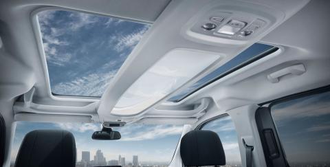 Detalle Interior Peugeot Rifter
