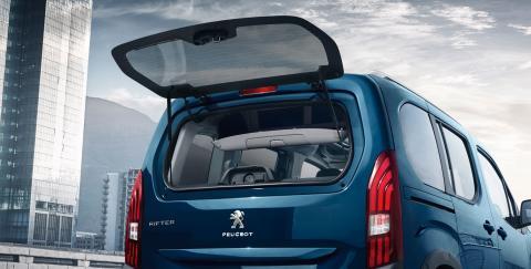 Detalle Trasero Peugeot Rifter