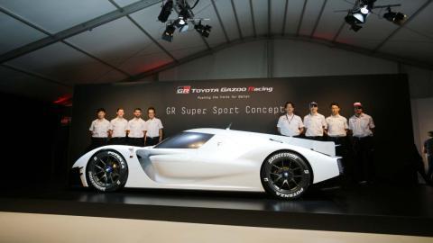Equipo Toyota en Le Mans