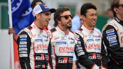 Fernando Alonso parrilla