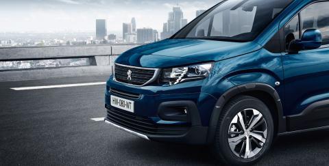 Frontal Peugeot Rifter 2018