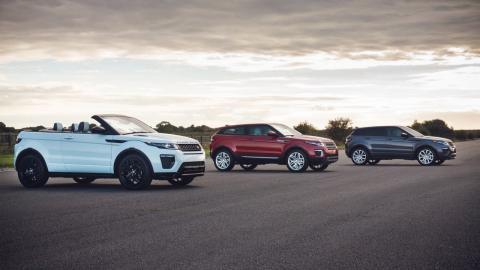 Gama Range Rover Evoque