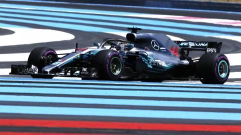 Lewis Hamilton Paul Ricard