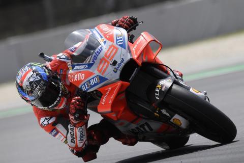 Lorenzo logra la pole en la Clasificación MotoGP Catalunya 2018