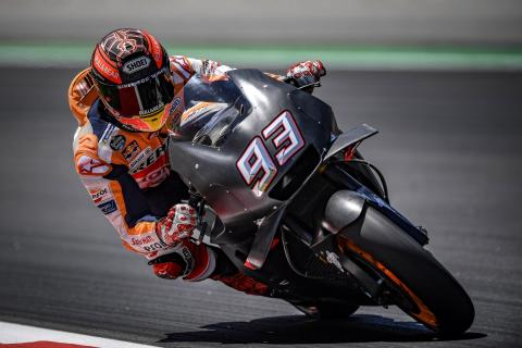 Márquez encabeza el Test MotoGP Catalunya 2018