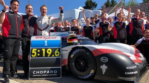 Porsche record Nurburgring