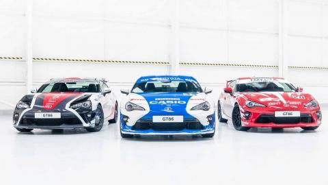 Toyota GT86 Le Mans style