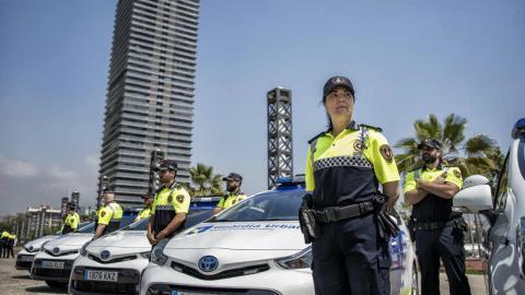 Toyota híbridos para la Guardia Urbana
