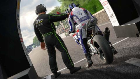 TT Isla de Man, videojuego de motos