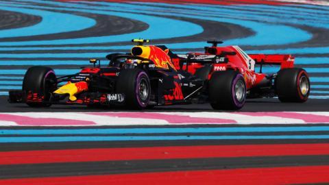 Verstappen y Ferrari