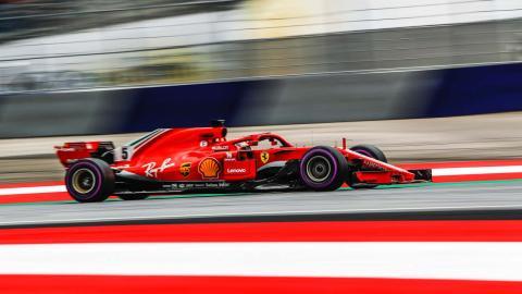 Vettel clasificación Austria