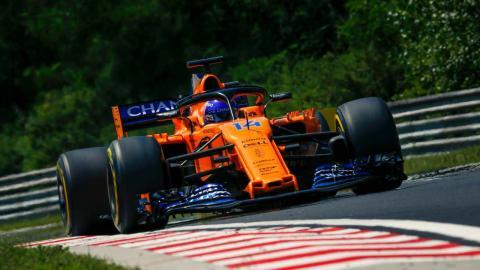 Alonso en la clasificación de Hungría