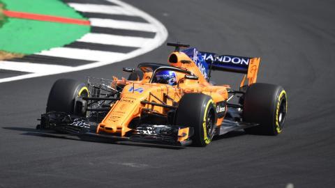 Alonso GP Gran Bretaña