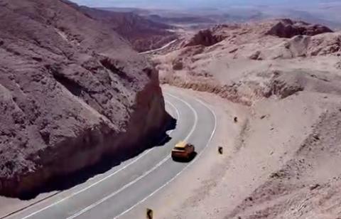 Audi Q8 en el desierto de Atacama