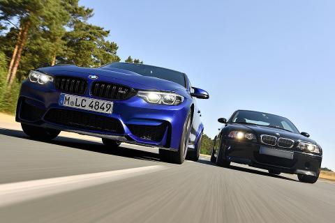BMW M3 CS vs BMW M3 CSL de 2003