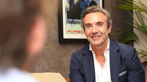 Entrevista con Tomás Villén, CEO de Porsche Ibérica