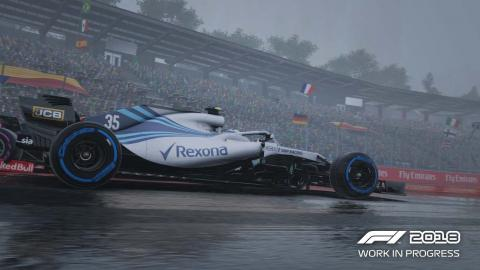 F1 2018 lluvia