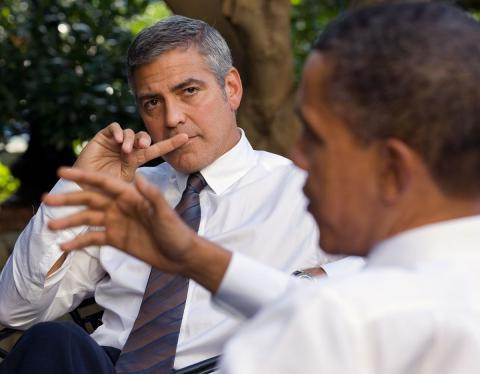 George Clooney, hospitalizado tras sufrir un accidente de moto