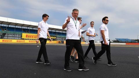 Gil de Ferran en Silverstone