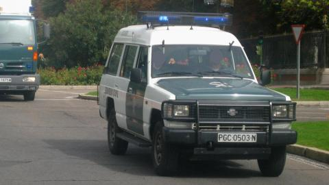 guardia civil Nissan Patrol