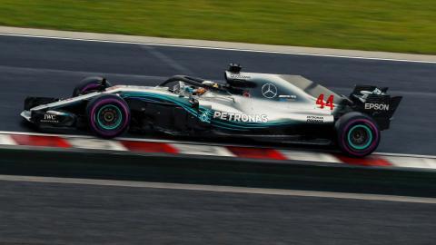 Hamilton en el GP Hungría
