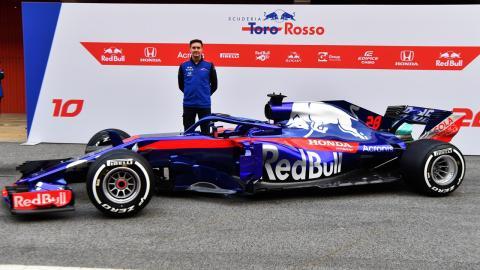 James Key Toro Rosso