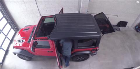 Jeep Wrangler 2018 JL techo blando