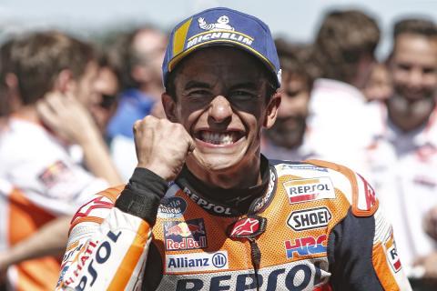 Marc Márquez pone la directa al título de MotoGP