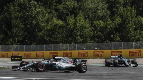 Mercedes F1 doble abandono