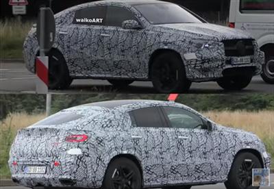 El Mercedes GLE Coupé 2019, ¡cazado!