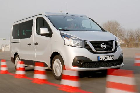 Nissan Michelangelo. Conduce, duerme, conduce