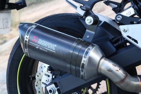 Prueba Kawasaki Z900
