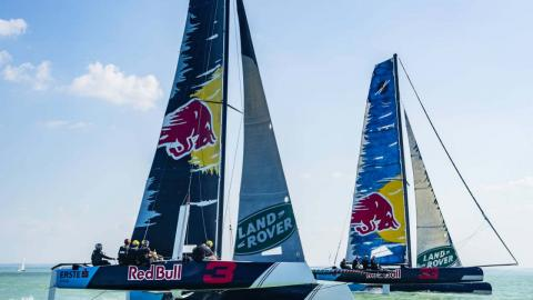 Red Bull barcos