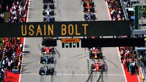 Salida GP EEUU F1 2017