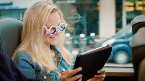 Seetroen, las gafas que evitan mareos en el coche